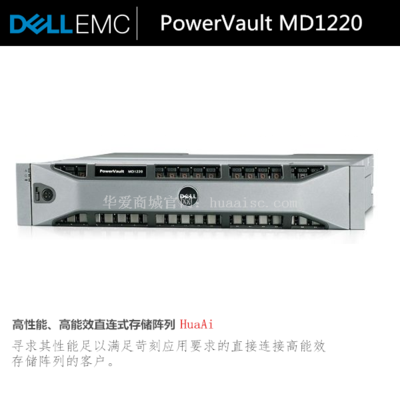 DELL戴尔PowerVault MD1220直连存储